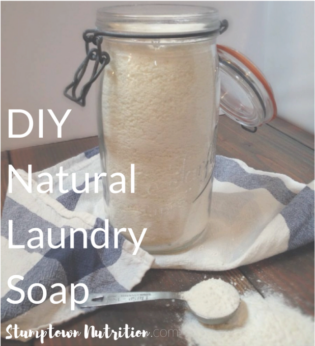 DIY Natural Laundry Soap