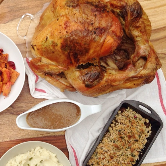 Herb Butter Roasted Turkey | Stumptown Nutrition