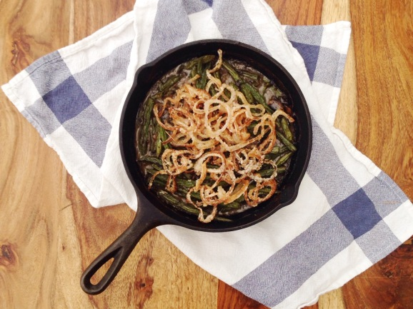 Best Ever Paleo Green Bean Casserole | Stumptown Nutrition